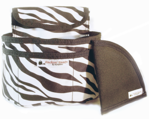 holster purse insert zebra